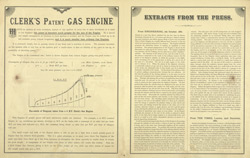 Advert For Clerk's Gas Engine, L. Sterne & Co. Limited reverse